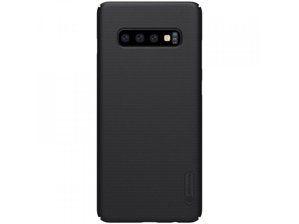 Nillkin Super Frosted kryt + fólie pro Samsung Galaxy S10+, black