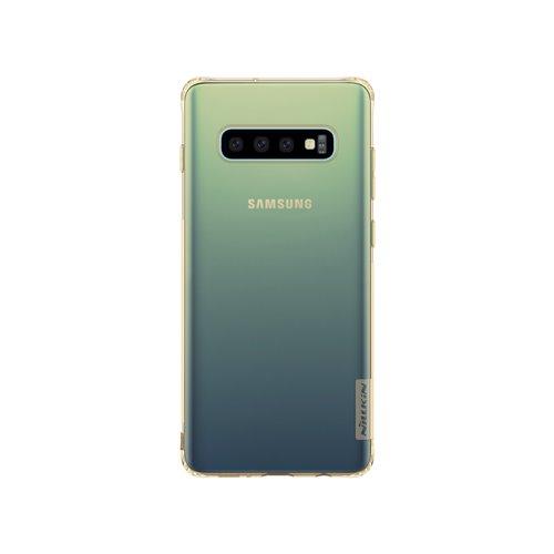 Nillkin Nature silikonové pouzdro pro Samsung Galaxy S10+, tawny