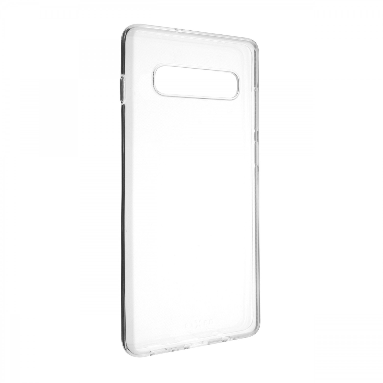 Pouzdro FIXED TPU pro Samsung Galaxy S10+, čirá