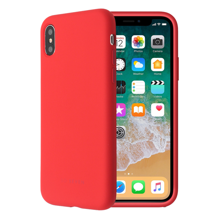 Zadní kryt SoSeven Smoothie pro Apple iPhone X/XS, Red