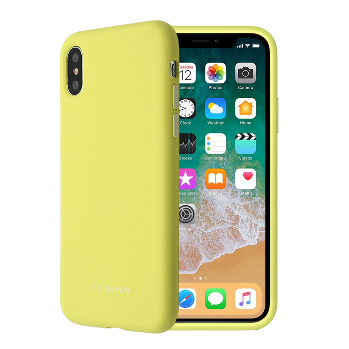Zadní kryt SoSeven Smoothie pro Apple iPhone 7/8, Yellow