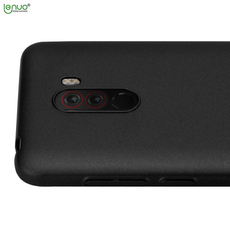 Zadní kryt Lenuo Leshield pro Xiaomi Pocophone F1, Black