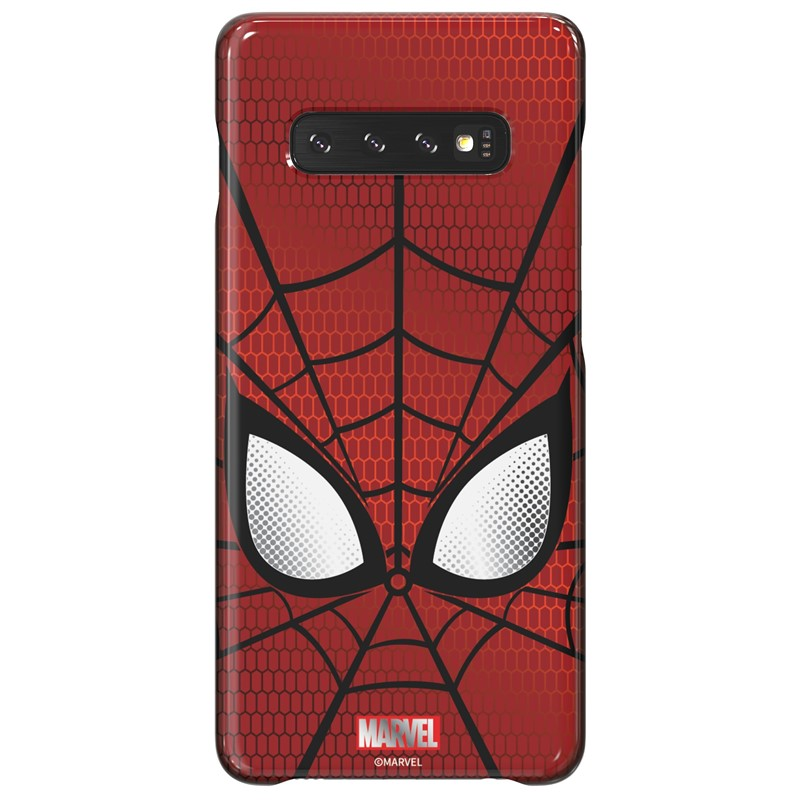 Zadní kryt Marvel Spider-Man x Galaxy Friends Samsung Galaxy S10+