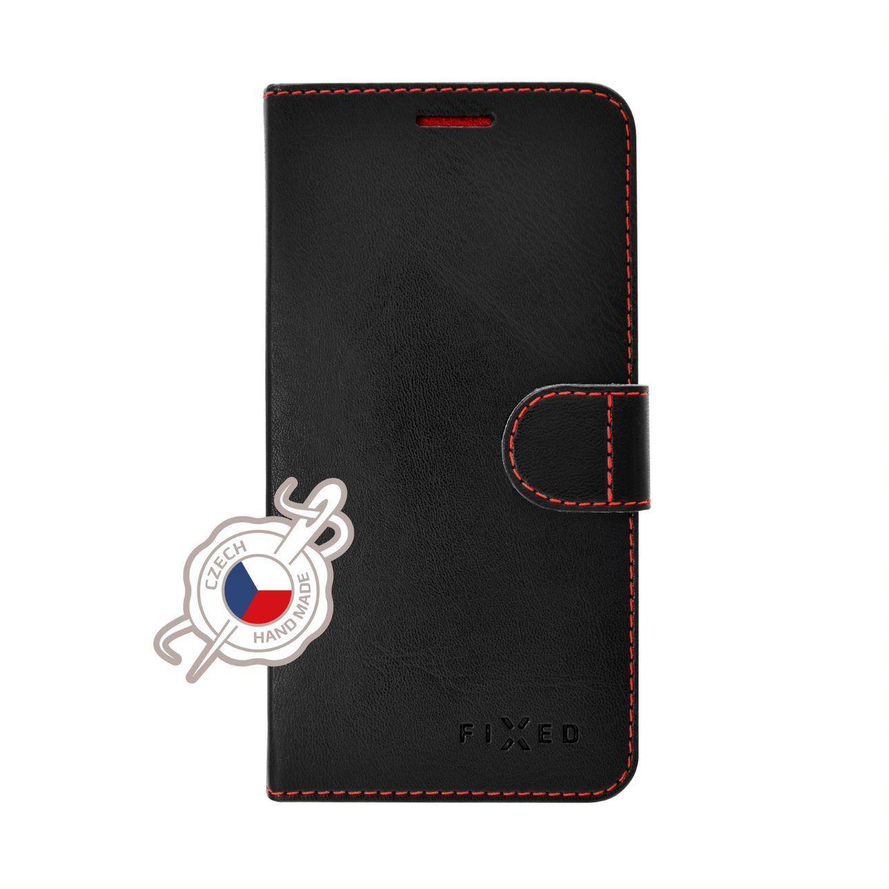 FIXED FIT flipové pouzdro pro Xiaomi Redmi Note 7/7 Pro, černé