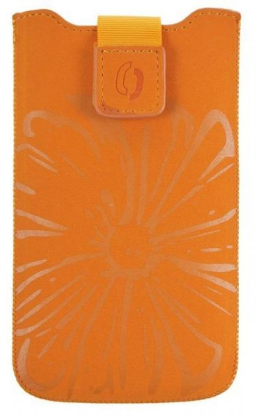 Pouzdro FRESH velikost Samsung GALAXY S5 TEENS 07 orange (150x80x10mm)