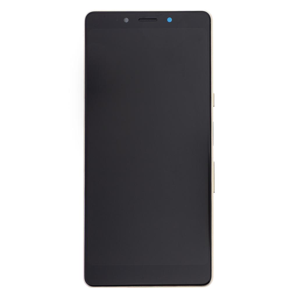 LCD + dotyk + přední kryt pro Sony Xperia L3, black/gold Service Pack