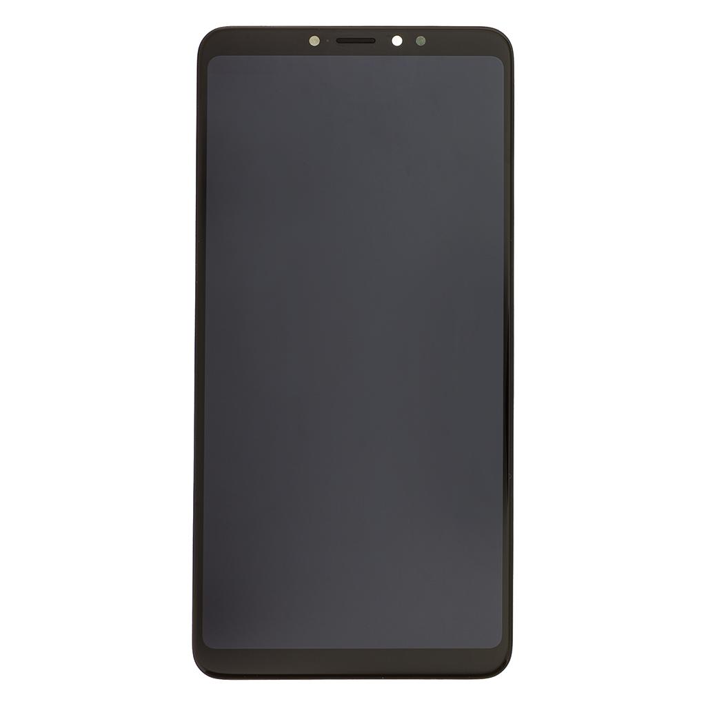 LCD Display + Dotyková Deska + Přední Kryt pro Xiaomi Mi Max 3 Black (Service Pack)