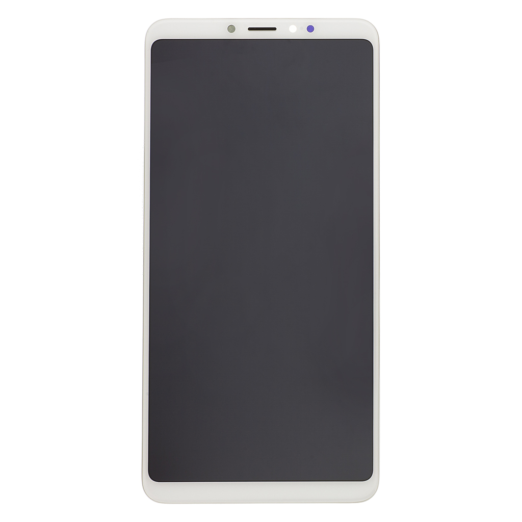 LCD Display + Dotyková Deska + Přední Kryt pro Xiaomi Mi Max 3 White (Service Pack)