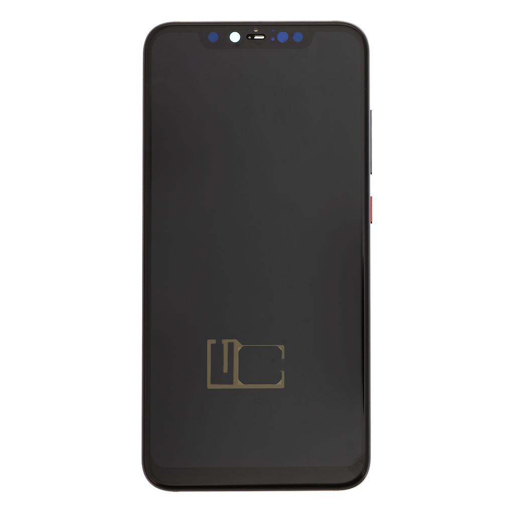 LCD Display + Dotyková Deska + Přední Kryt pro Xiaomi Mi8 Pro Deep Tarnish (Service Pack)