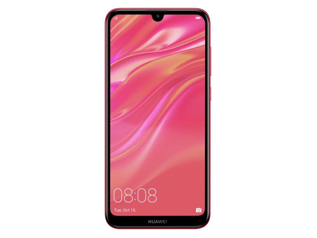 LCD + dotyk + přední kryt pro Huawei Y7 2019, red