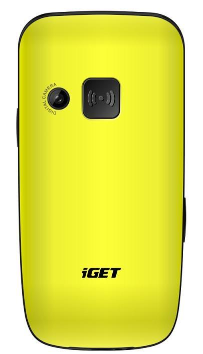 iGET Simple D7 žlutá