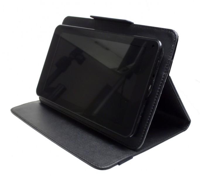 """Pouzdro TABLET SMART 10,1"""", se stojánkem, univerzální, syntetická kůže, Black"""