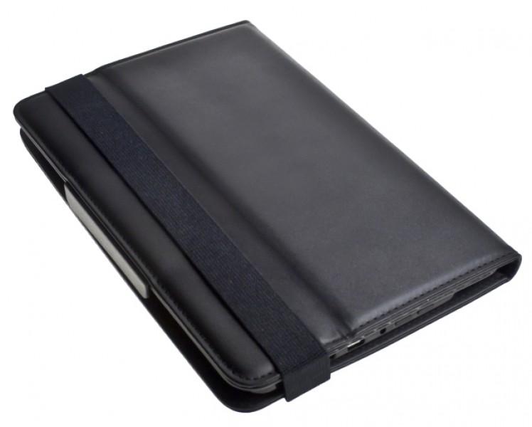 """Pouzdro TABLET SMART 7"""" black (195x130 mm), se stojánkem, univerzální, syntetická kůže"""