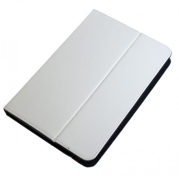 """Pouzdro TABLET VELCRO 7"""" white (210x140mm), se stojánkem, univerzální, syntetická kůže"""