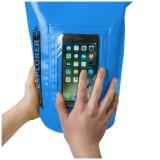 """CELLY Explorer voděodolný vak 2L s kapsou na telefon do 6.2"""", modrý"""