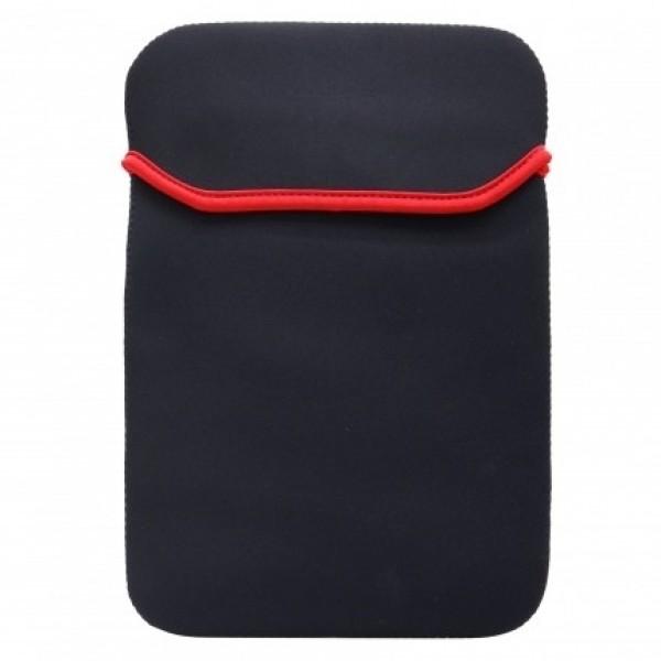 """Pouzdro TABLET neopren 7"""" black/red line (19x13cm), univezální"""