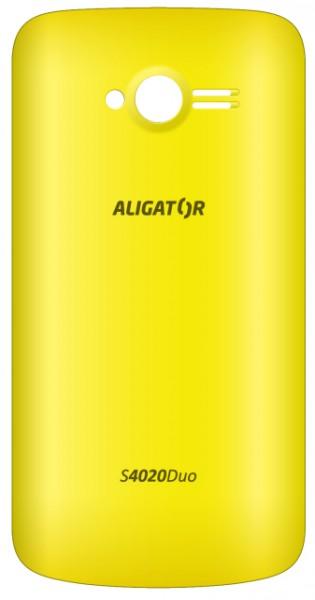 Kryt zadní  ALIGATOR S4020 DUO žlutý bulk, originální