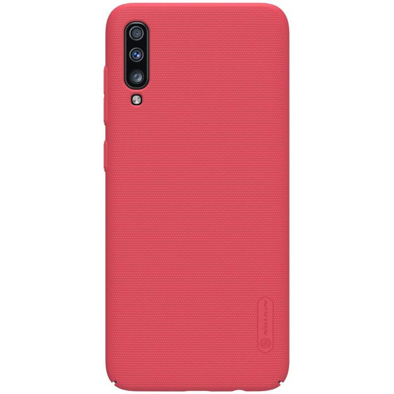 Nillkin Super Frosted Zadní Kryt pro Samsung Galaxy A70 Red