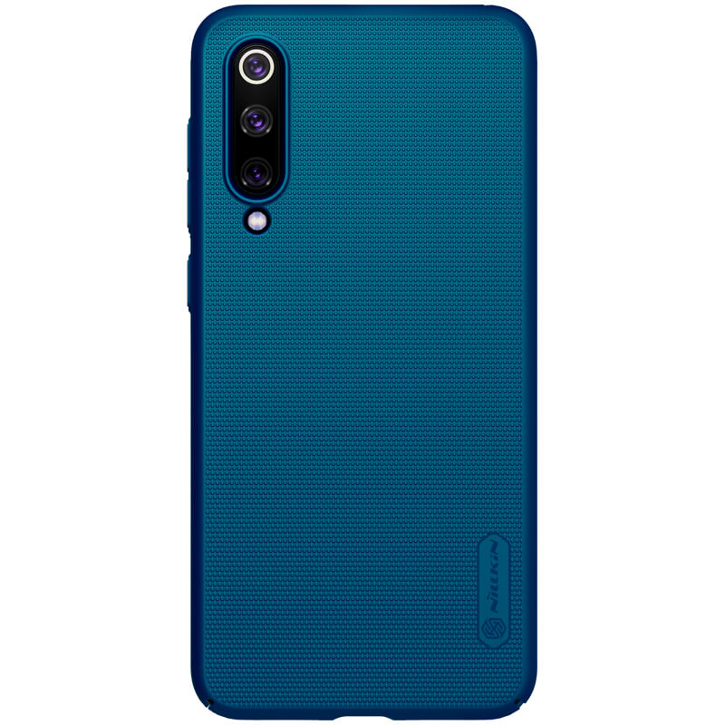 Nillkin Super Frosted Zadní Kryt pro Xiaomi Mi9 SE Peacock Blue