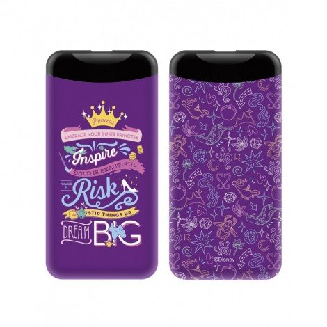 PowerBank 6000mAh Disney Princess 002 Violet 2.1A