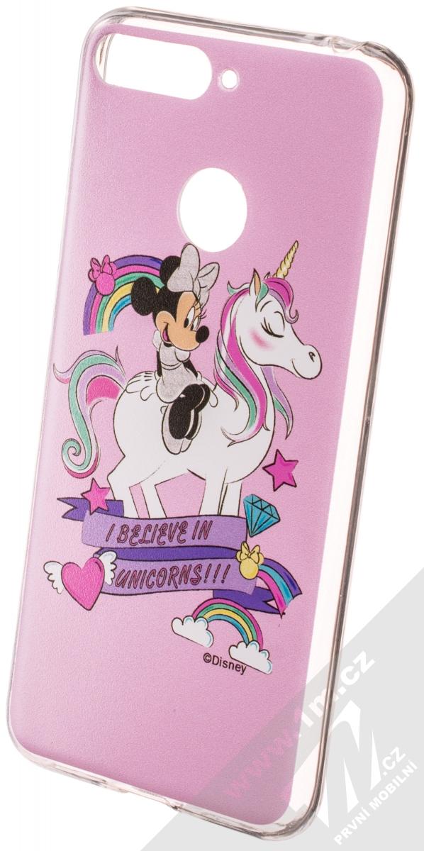 Zadni kryt Disney Minnie 035 pro Huawei Y5 2018, pink