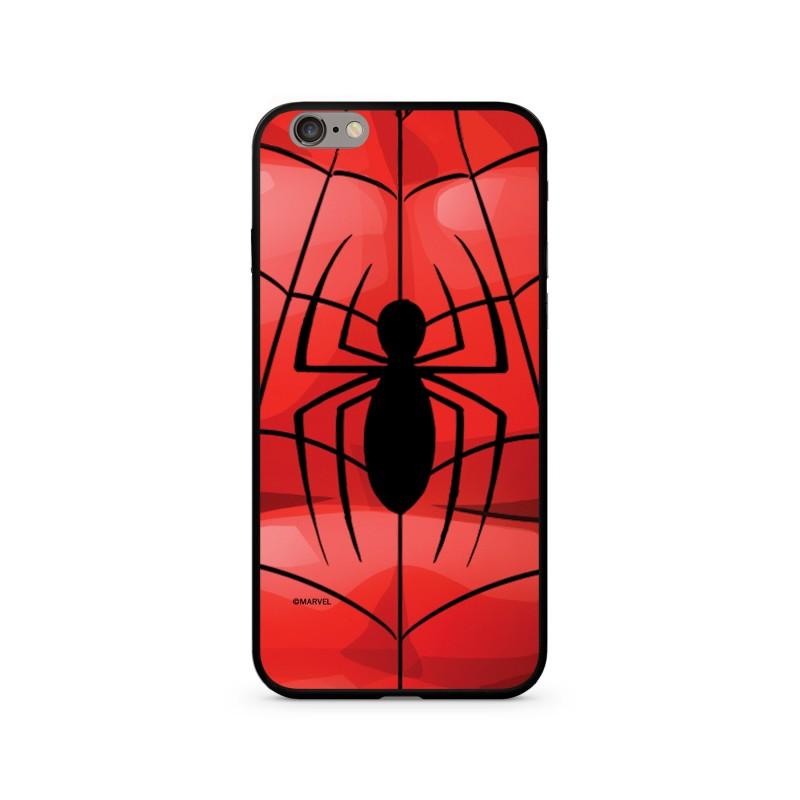 Spiderman 017 Premium Glass Zadní Kryt pro iPhone 7/8 Red