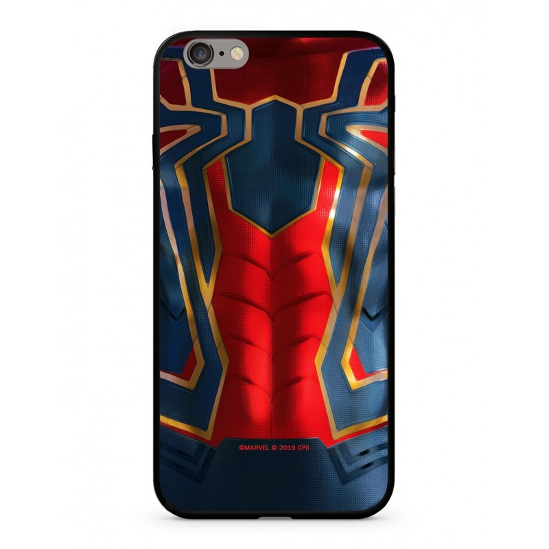 Spiderman 016 Premium Glass Zadní Kryt pro iPhone 6/6S Multicolored