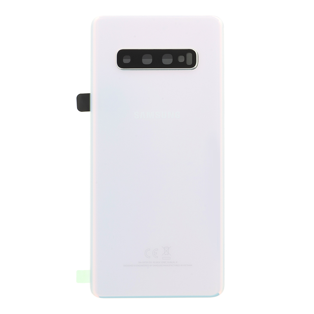 Kryt baterie Samsung Galaxy S10+ white (Service Pack)