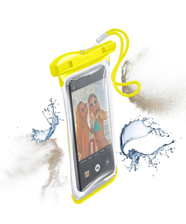 Cellularline VOYAGER 2019 vodotěsné pouzdro, žluté