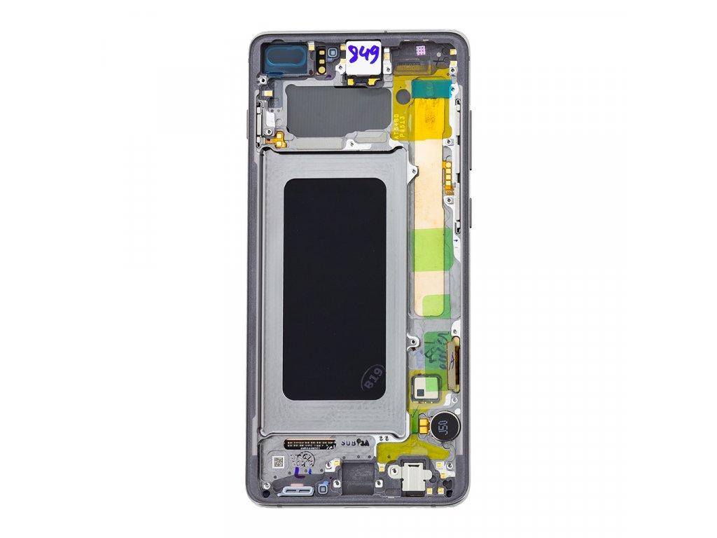 LCD + dotyk pro Samsung Galaxy S10+, white ( Service Pack )