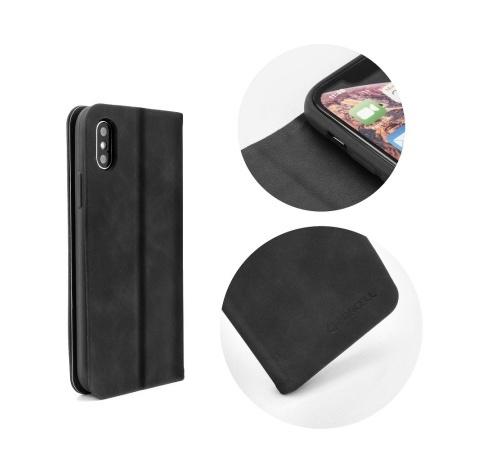Pouzdro Forcell SILK pro Samsung Galaxy A6 2018 (SM-A600) černá