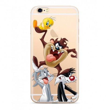 Warner Bros Looney Tunes 001 Zadní Kryt pro Xiaomi Mi A2 Transparent