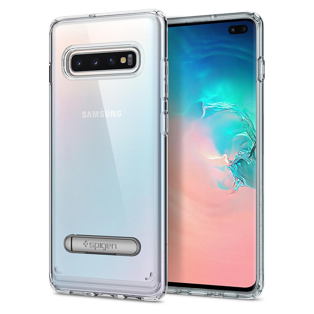 Kryt Spigen Ultra Hybrid S pro Samsung Galaxy S10+ transparentní
