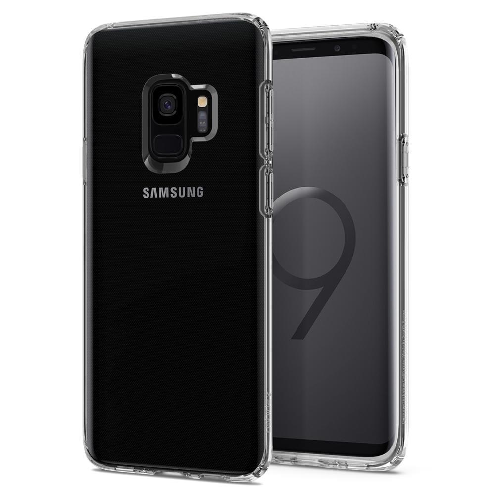 Ochranný kryt Spigen Liquid Crystal pro Samsung Galaxy S9 transparentní