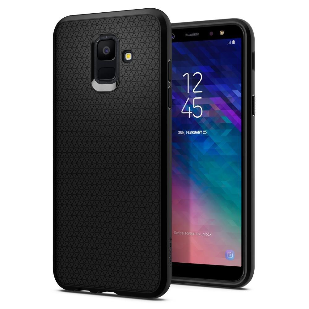 Spigen Liquid Air for Samsung Galaxy A6 (2018) Black (EU Blister)