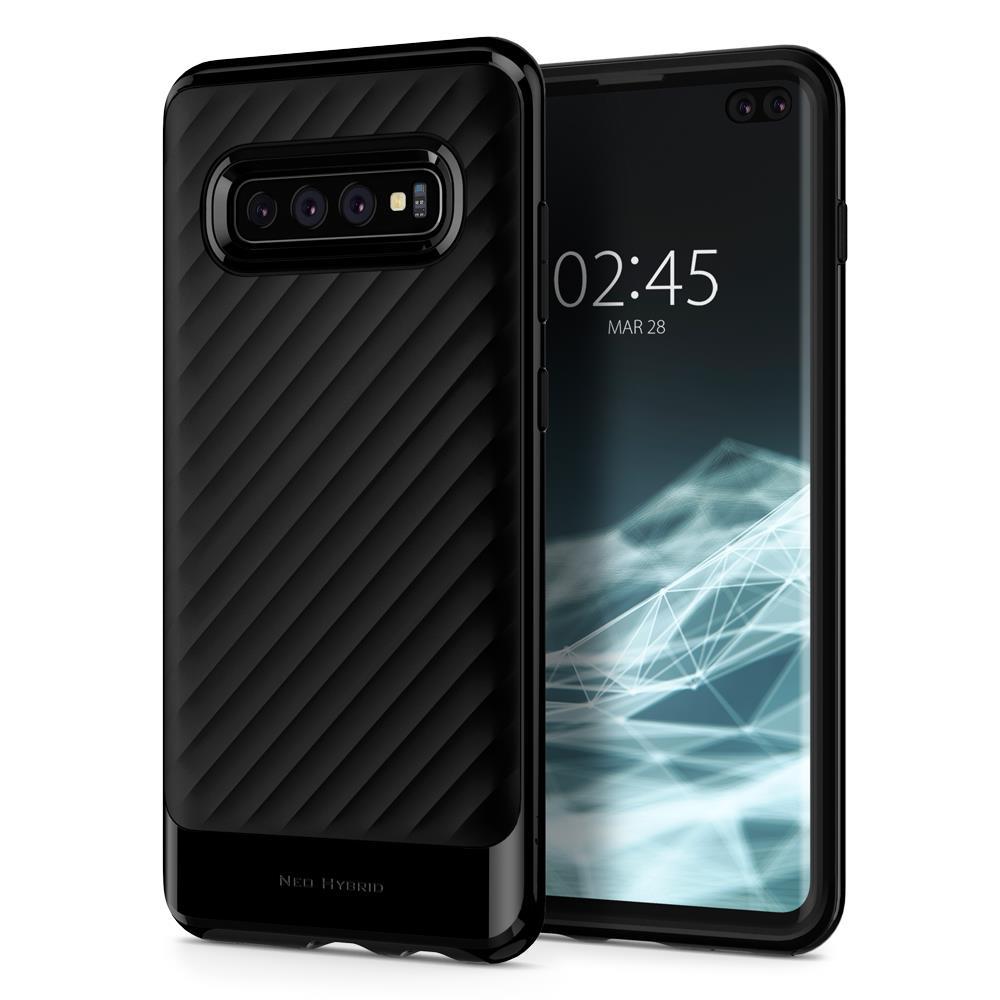 Ochranný kryt Spigen Neo Hybrid pro Samsung Galaxy S10 plus černý