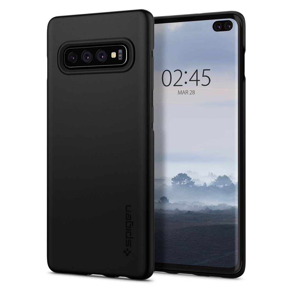 Ochranný kryt Spigen Thin Fit pro Samsung Galaxy S10 plus černý