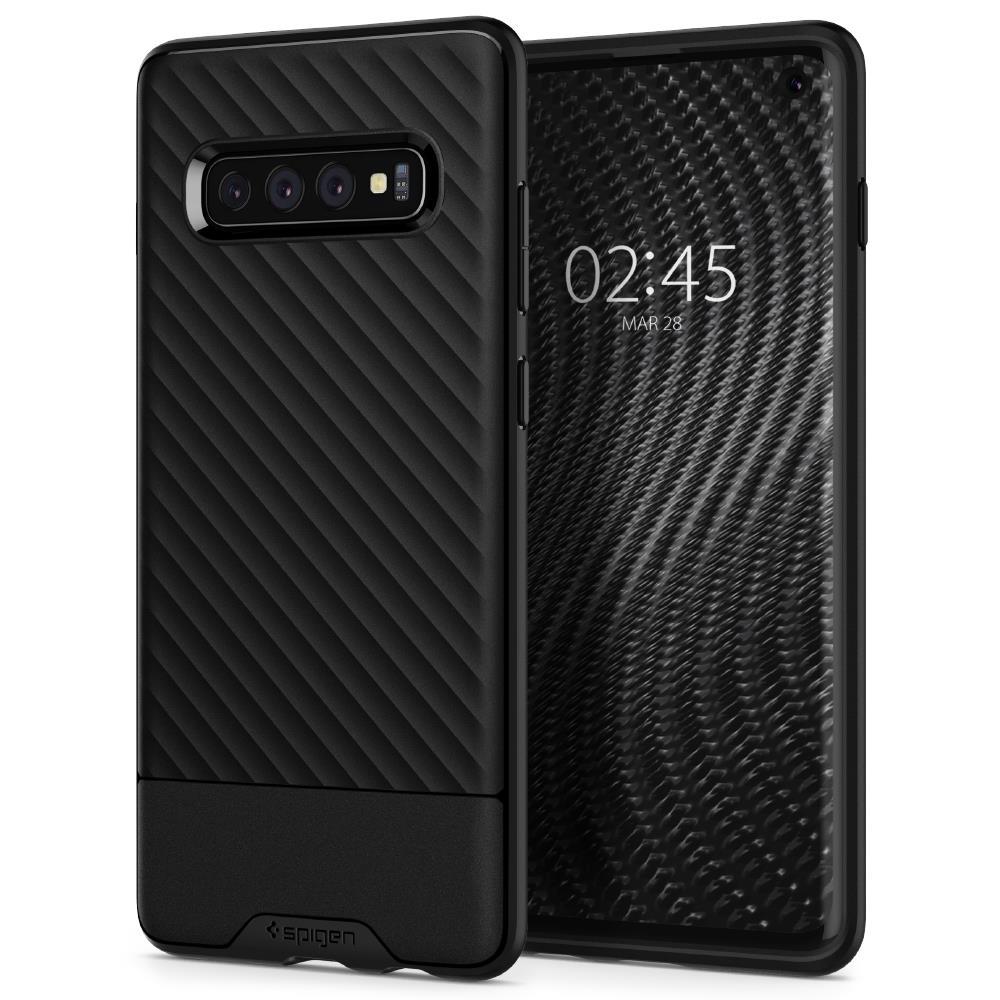Ochranný kryt Spigen Core Armor pro Samsung Galaxy S10 plus černý