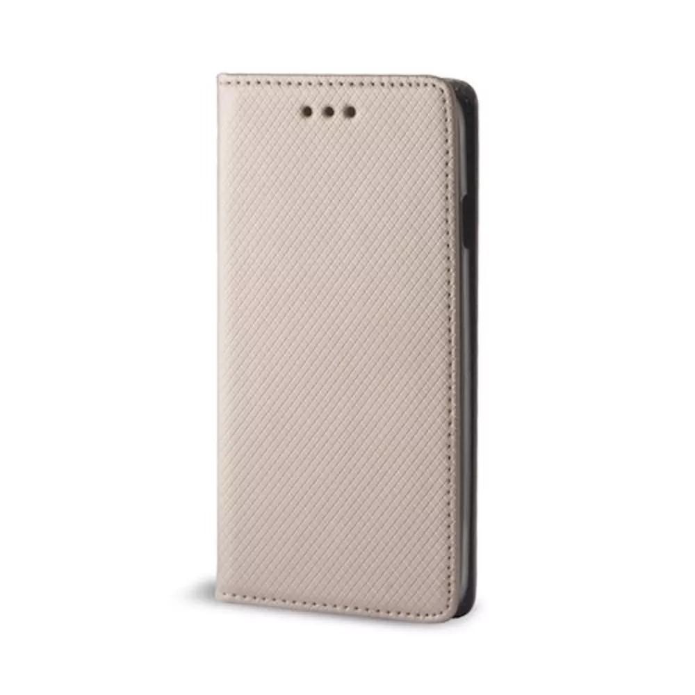 Cu-Be Smart Magnet flipové pouzdro pro Xiaomi Redmi Note 7 gold
