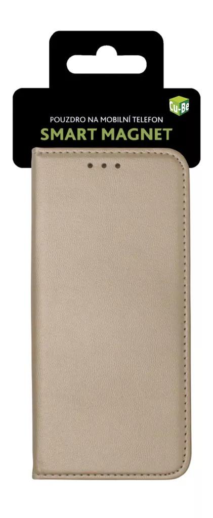 Cu-Be Platinum flipové pouzdro Xiaomi Redmi Note 7 goldedmi Note 7 Gold