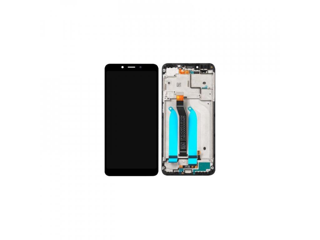 LCD + dotyk + rámeček pro Xiaomi Pocophone F1, black OEM