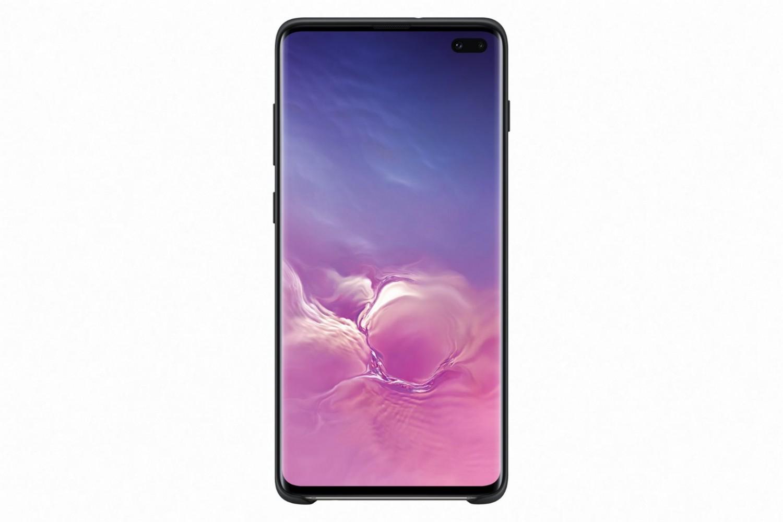 Ochranný kryt Silicone Cover pro Samsung Galaxy S10 plus, černý