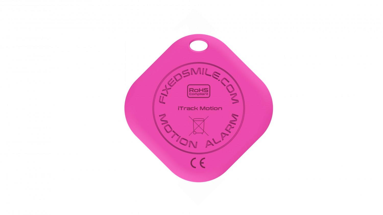 Key finder FIXED Smile s motion senzorem, růžová