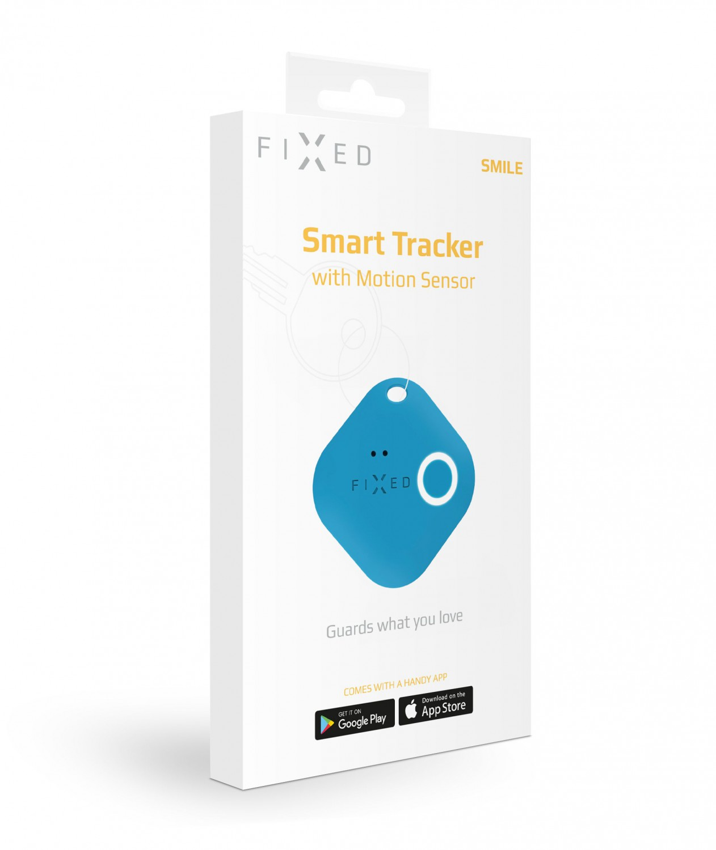 Key finder FIXED Smile s motion senzorem, modrá