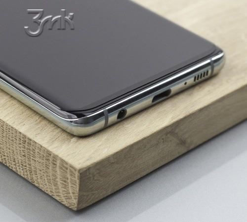 Tvrzené sklo 3mk FlexibleGlass Edge pro Samsung Galaxy S10+ (SM-G975)