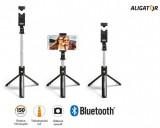 Držák SELFIE s Bluetooth ALIGATOR HA12, tripod, černý