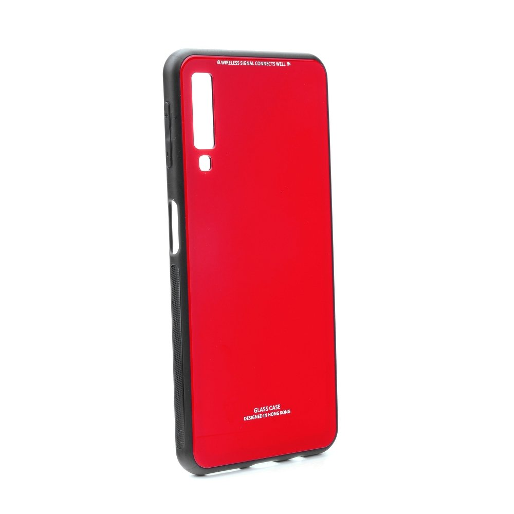 Pouzdro Glass Forcell pro Huawei P Smart 2019/Honor 10 Lite, červená