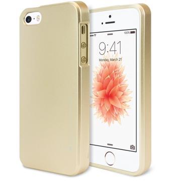 Silikonové pouzdro Mercury iJelly Metal pro Apple iPhone XR, zlaté