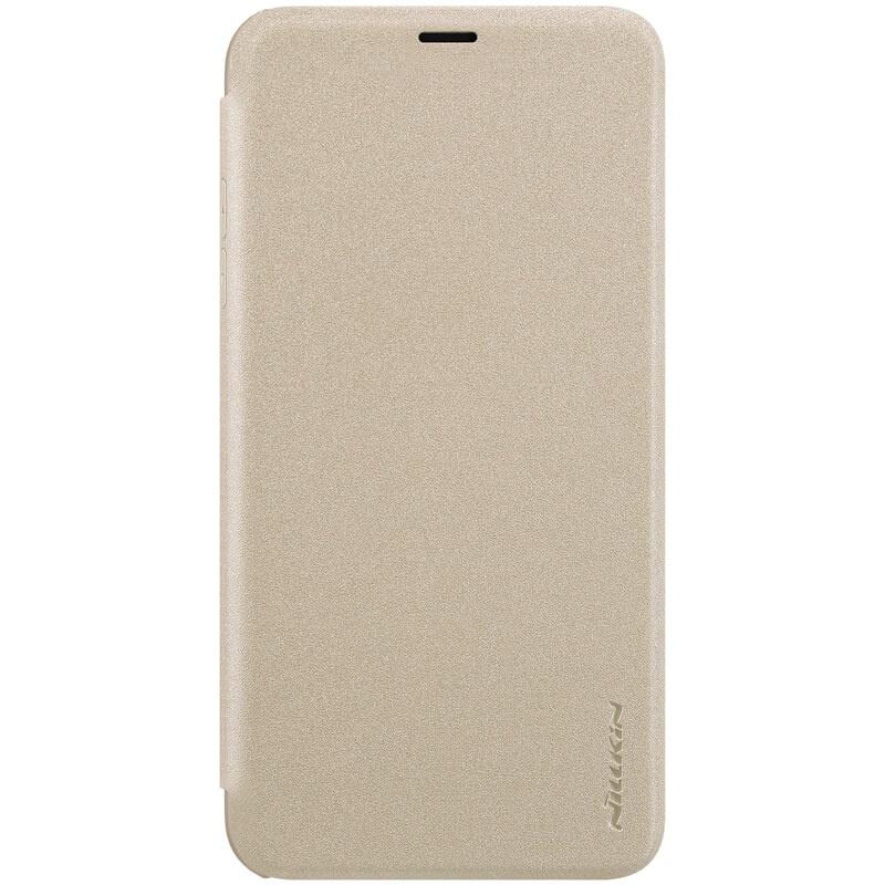 Nillkin Sparkle flipové pouzdro pro Apple iPhone XS Max, goldpple iPhone XS Max Gold