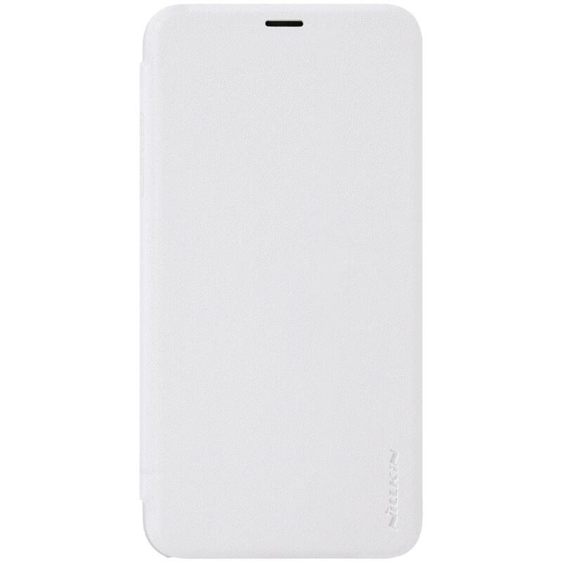 Nillkin Sparkle flipové pouzdro pro Apple iPhone XR, white